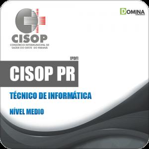 Apostila Processo Seletivo CISOP 2019 Técnico de Informática