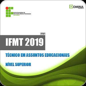 Apostila Concurso IFMT 2019 Técnico em Assuntos Educacionais
