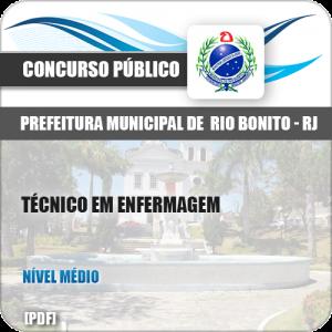 Apostila Concurso Pref Rio Bonito RJ 2019 Técnico em Enfermagem