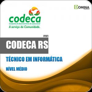 Apostila CODECA Caxias do Sul RS 2019 Técnico em Informática