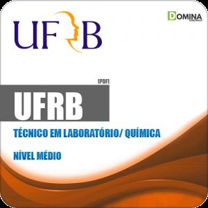 Apostila Concurso UFRB 2019 Técnico em Laboratório Química