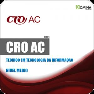 Apostila CRO AC 2019 Técnico em Tecnologia da Informação