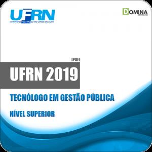 Apostila Concurso UFRN 2019 Tecnólogo em Gestão Pública