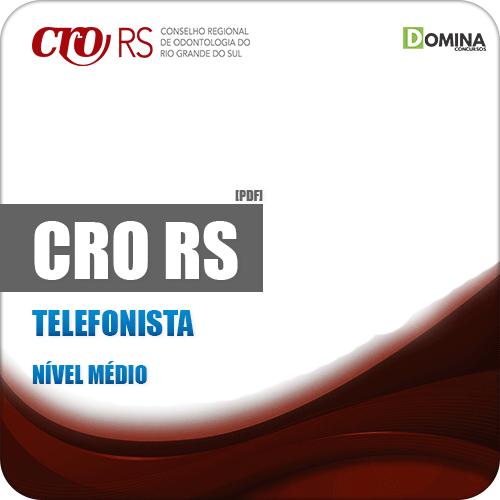 Apostila Concurso Público CRO RS 2019 Telefonista