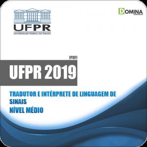 Apostila UFPR 2019 Tradutor e Intérprete de Linguagem de Sinais