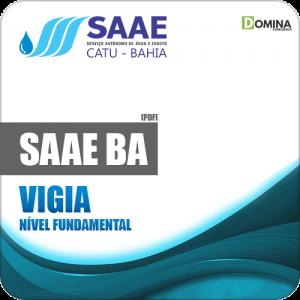 Apostila Concurso Público SAAE Catu BA 2019 Vigia