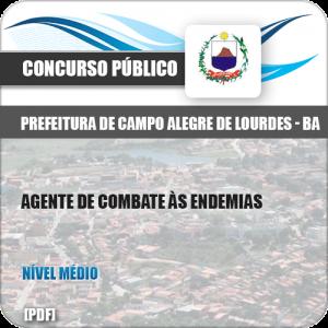 Apostila Campo Alegre Lourdes BA 2019 Agente Combate Endemias