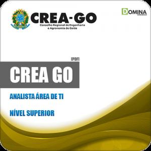 Apostila Concurso Público CREA GO 2019 Analista Área de TI