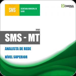Apostila Concurso Público SMS Cuiabá MT 2019 Analista de Rede