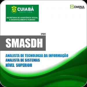 Apostila Concurso SMASDH Cuiabá MT 2019 Analista de Sistemas