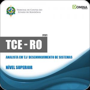 Apostila TCE RO 2019 Analista em T.I Desenvolvimento de Sistemas
