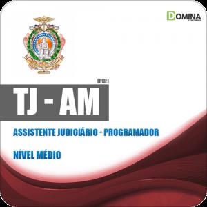 Apostila Concurso TJ AM 2019 Assistente Judiciário Programador