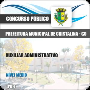 Apostila Concurso Pref Cristalina GO 2019 Auxiliar Administrativo