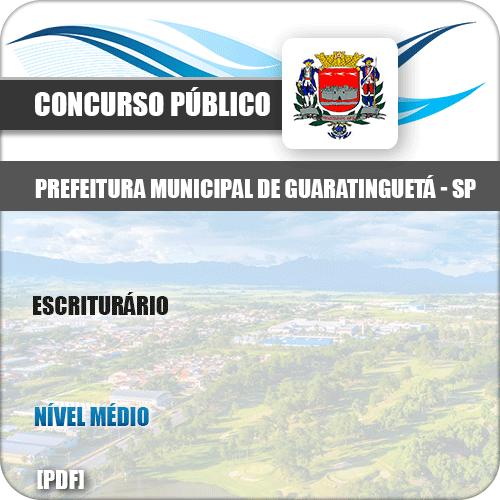Apostila Concurso Pref Guaratinguetá SP 2019 Escriturário
