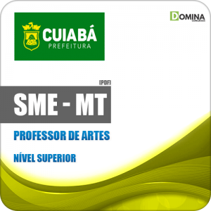 Apostila Concurso SME Cuiabá MT 2019 Professor de Artes