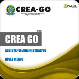 Apostila Concurso Público CREA GO 2019 Assistente Administrativo