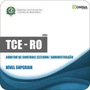 Apostila TCE RO 2019 Auditor de Controle Externo Administração