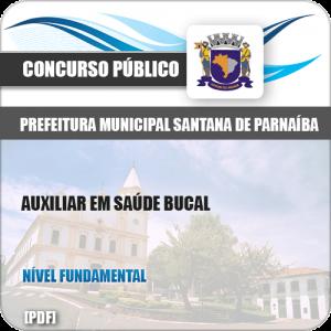 Apostila Pref Santana Parnaíba SP 2019 Auxiliar Saúde Bucal