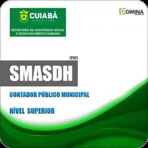 Apostila SMASDH Cuiabá MT 2019 Contador Público Municipal