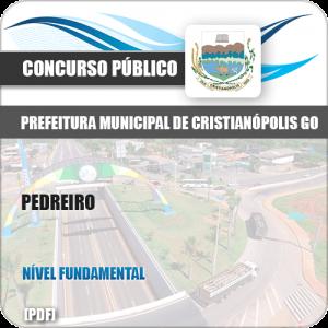 Apostila Concurso Pref Cristianópolis GO 2019 Pedreiro