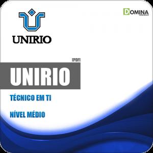 Apostila Concurso UniRio 2019 Técnico Tecnologia Informação