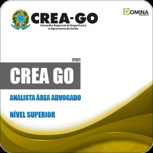 Apostila Concurso Público CREA GO 2019 Analista Área Advogado