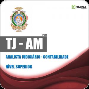 Apostila Concurso TJ AM 2019 Analista Judiciário Contabilidade