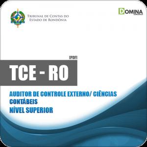 Apostila TCE RO 2019 Auditor Controle Externo Ciências Contábeis