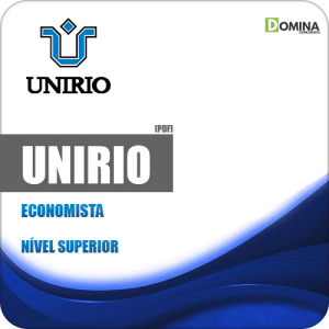 Apostila Concurso Público UniRio 2019 Economista