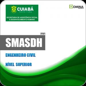 Apostila Concurso SMASDH Cuiabá MT 2019 Engenheiro Civil