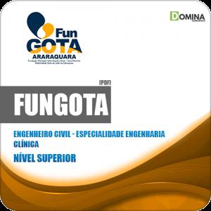 Apostila FUNGOTA Araraquara SP 2019 Engenheiro Civil Clínica