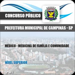 Apostila Pref Campinas SP 2019 Médico Família e Comunidade
