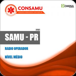 Apostila Concurso CIRUSPAR SAMU PR 2019 Radio Operador