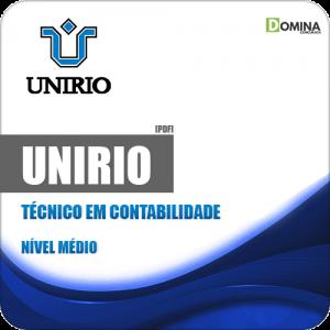 Apostila Concurso UniRio 2019 Técnico em Contabilidade