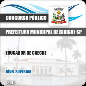 Apostila Concurso Público Pref Birigui SP 2019 Educador de Creche