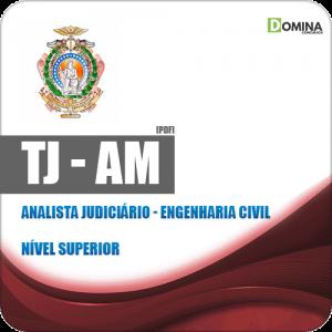 Apostila Concurso TJ AM 2019 Analista Judiciário Engenharia Civil