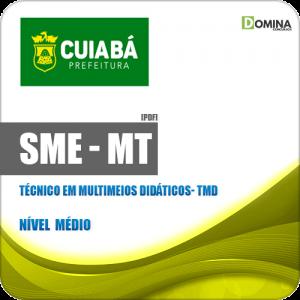 Apostila SME Cuiabá MT 2019 Técnico em Multimeios Didáticos TMD