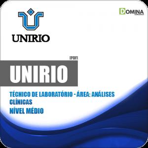 Apostila UniRio 2019 Técnico de Laboratório Análises Clínicas