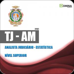 Apostila Concurso TJ AM 2019 Analista Judiciário Estatística