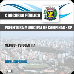 Apostila Concurso Pref Campinas SP 2019 Médico Psiquiatria