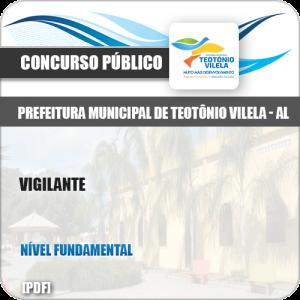 Apostila Concurso Público Pref Teotônio Vilela AL 2019 Vigilante