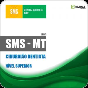 Apostila Concurso SMS Cuiabá MT 2019 Cirurgião Dentista