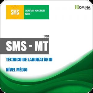 Apostila Concurso SMS Cuiabá MT 2019 Técnico de Laboratório