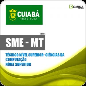 Apostila SME Cuiabá MT 2019 Tec Nv Superior Ciências da Computação
