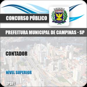 Apostila Concurso Público Pref Campinas SP 2019 Contador