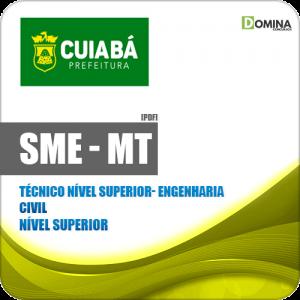 Apostila SME Cuiabá MT 2019 Técnico Nível Superior Engenharia Civil