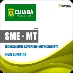 Apostila SME Cuiabá MT 2019 Técnico Nível Superior Nutricionista