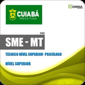 Apostila SME Cuiabá MT 2019 Técnico Nível Superior Psicólogo