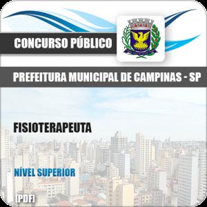 Apostila Concurso Público Pref Campinas SP 2019 Fisioterapeuta