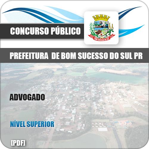 Apostila Concurso Pref Bom Sucesso do Sul PR 2019 Advogado